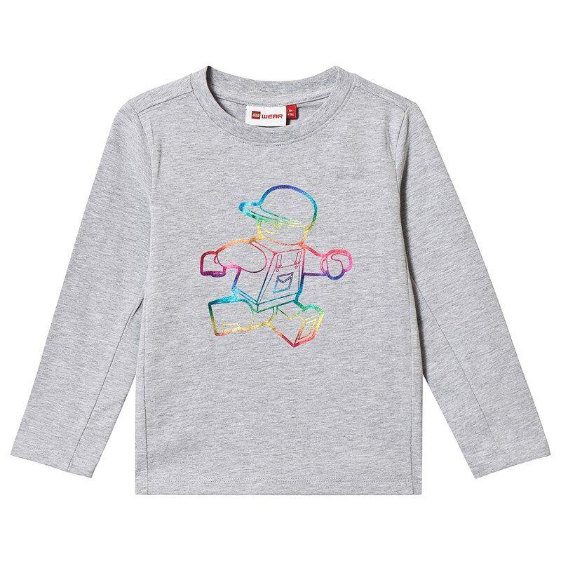 Lego Tiger T-Shirt L/S Grey Melange104 cm (3-4 v)
