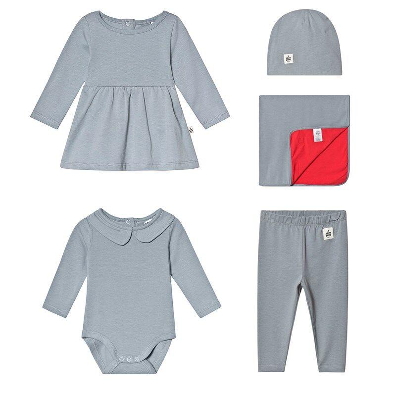 A Happy Brand Vauvan Mekko Setti HarmaaBundle