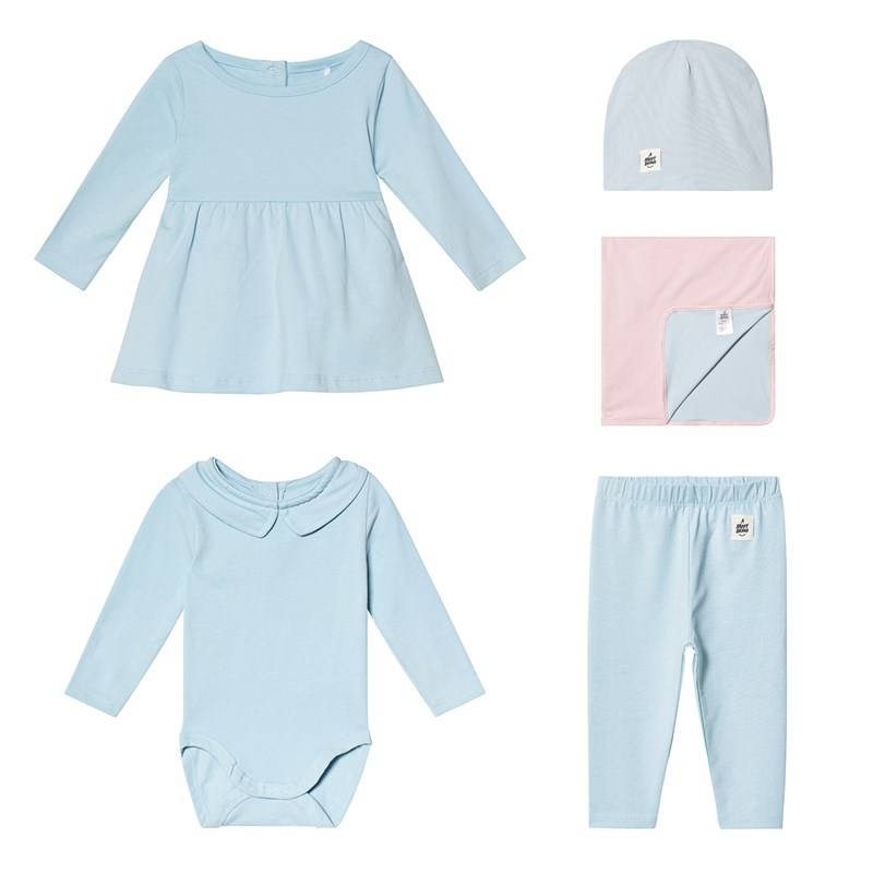 A Happy Brand Vauvan Mekko Setti SininenBundle