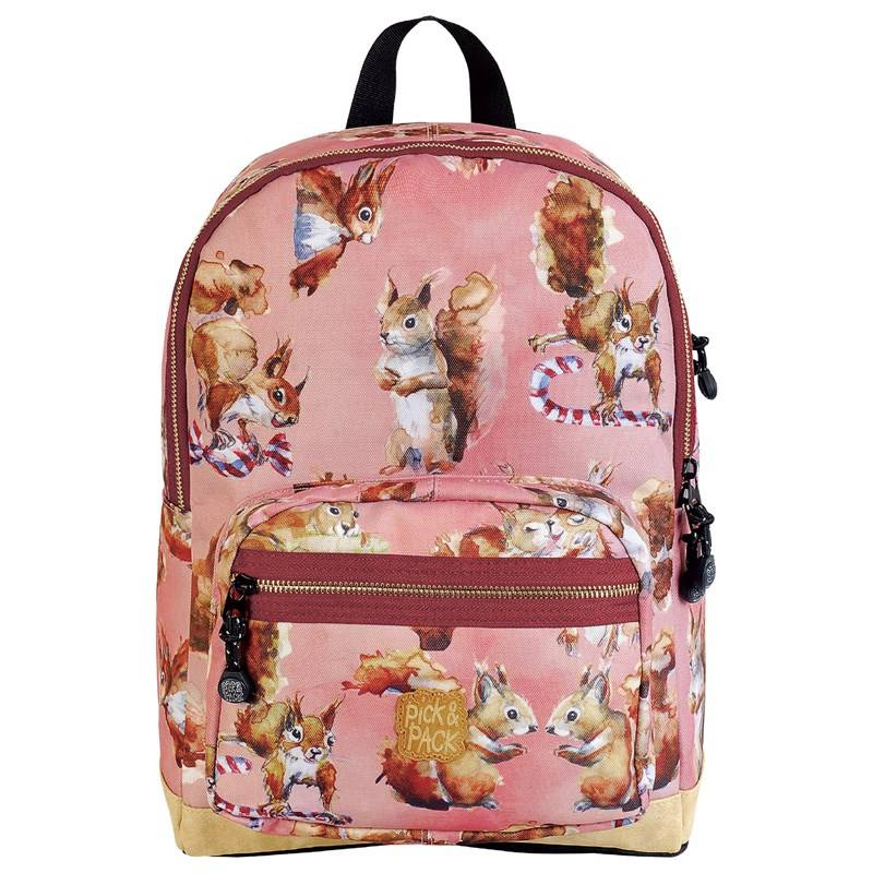 Pick & Pack Backpack Squirell Pink