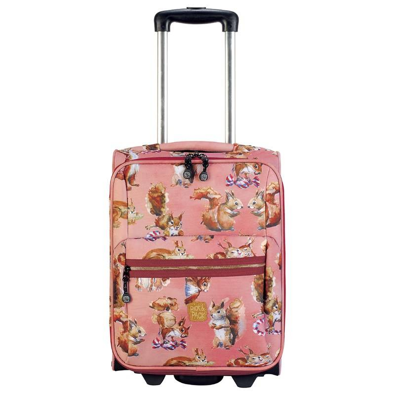 Pick & Pack Trolley Squirell Pink