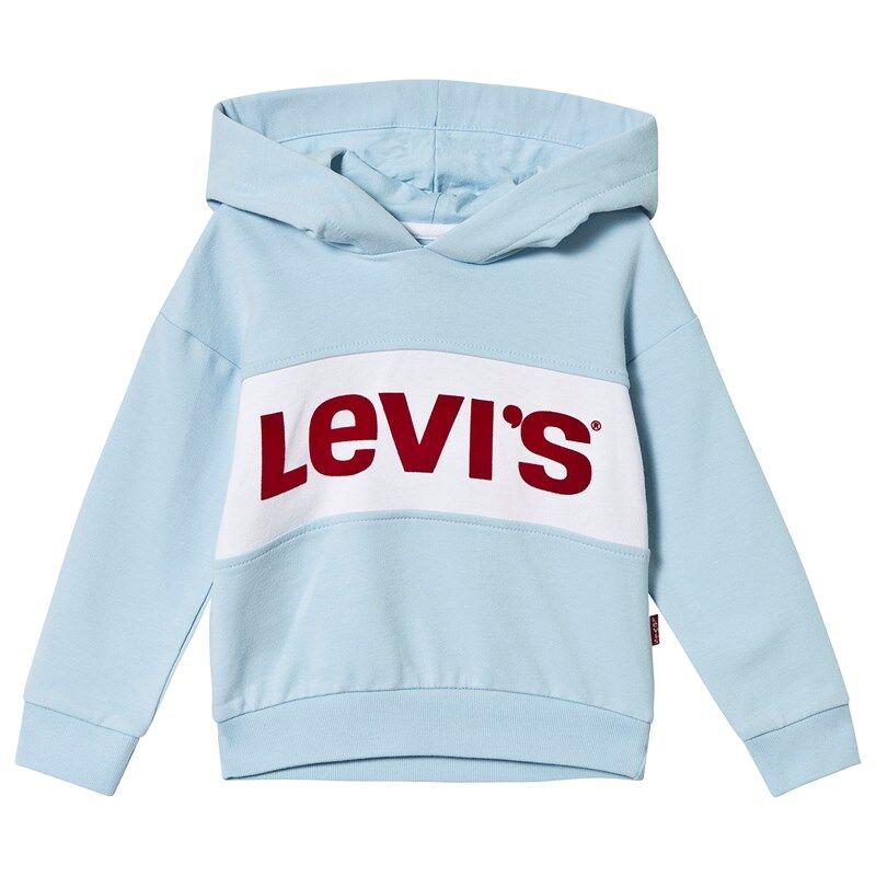 Levis Kids Pale Blue Logo Cropped Hoody10 years