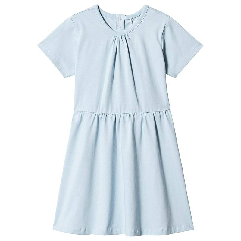 A Happy Brand SHORT SLEEVE DRESS BLUE86/92 cm