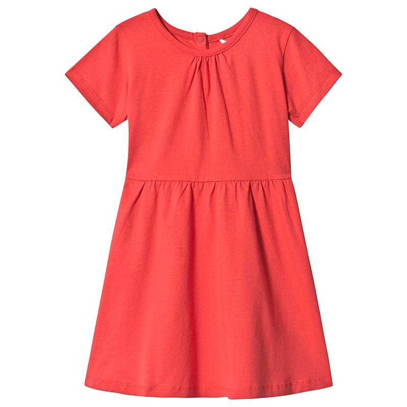 A Happy Brand SHORT SLEEVE DRESS RED110/116 cm