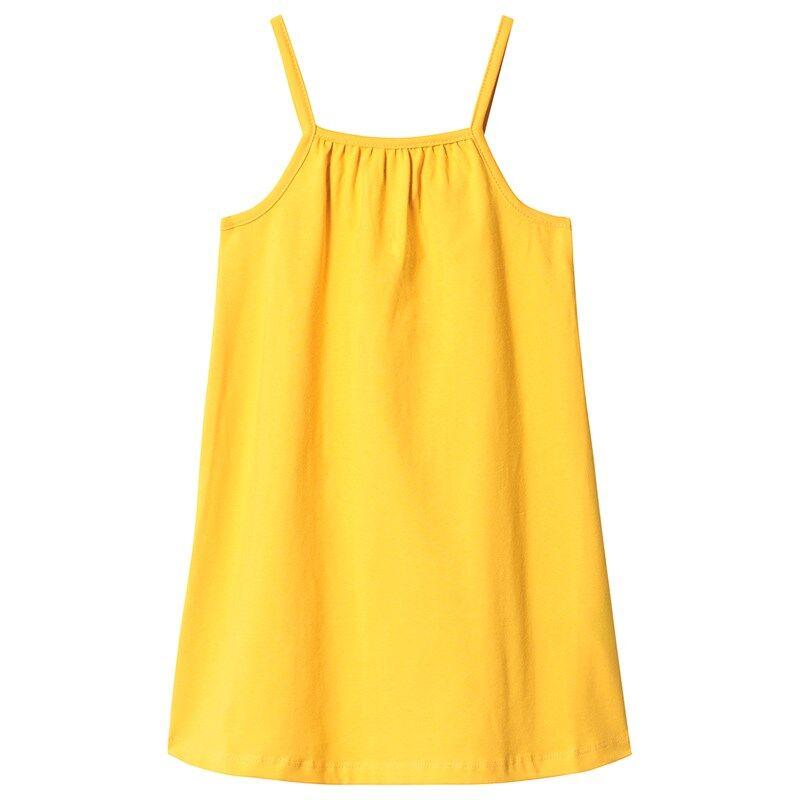 A Happy Brand GIRLY TANK DRESS YELLOW134/140 cm