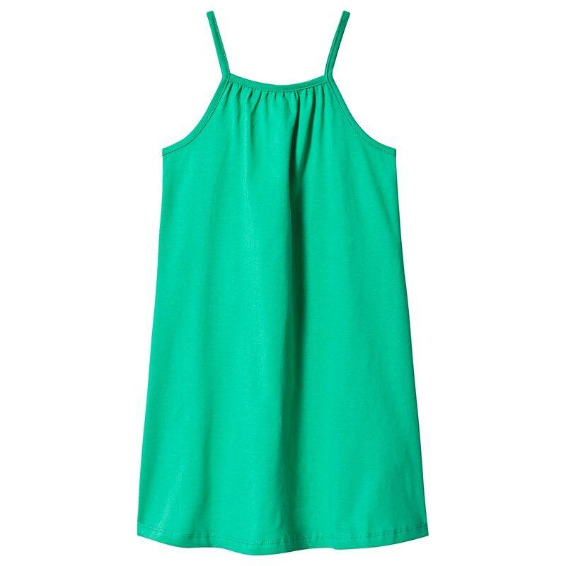 A Happy Brand GIRLY TANK DRESS GREEN134/140 cm