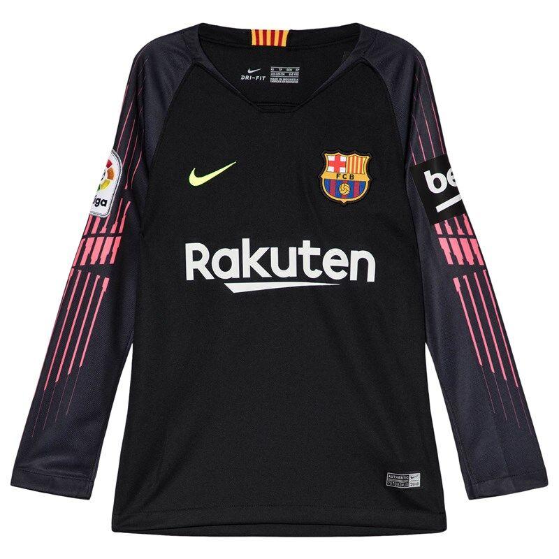 Barcelona FC Black Nike Breathe FC Barcelona Stadium Long-Sleeve JerseyL (12-13 years)