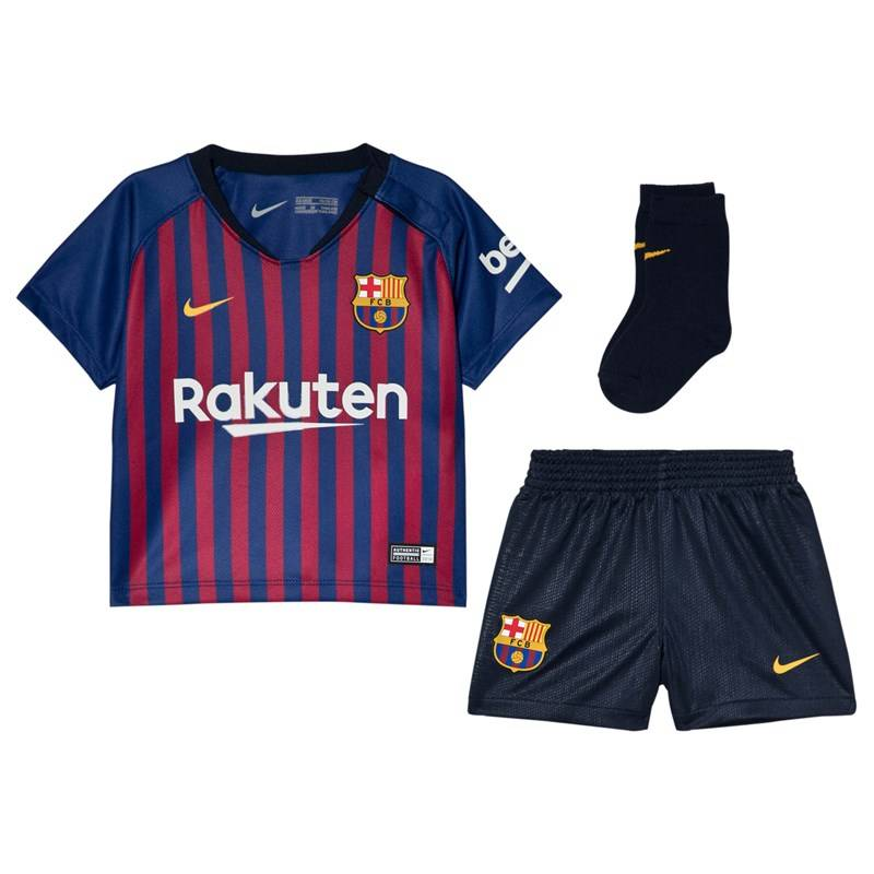 Barcelona FC Blue Nike Breathe FC Barcelona Home Infants Kit24-36 months