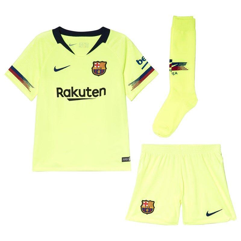 Barcelona FC Yellow Breathe FC Barcelona Away KitS (4-5 years)