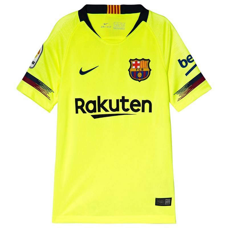 Barcelona FC Yellow Nike Breathe FC Barcelona SS (8-10 years)