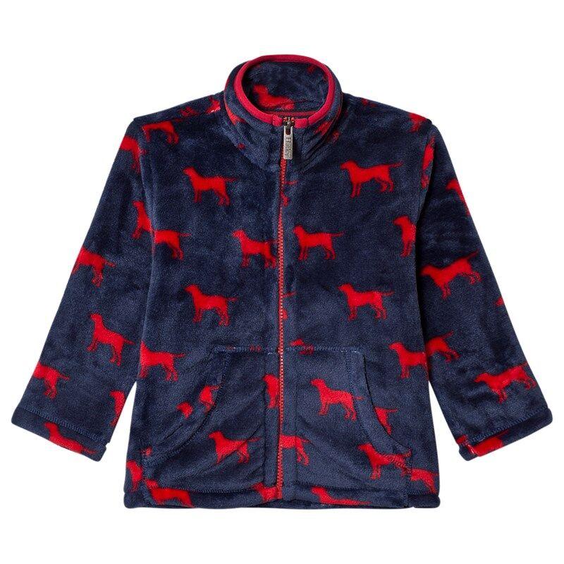 Hatley Red Labs Fuzzy Fleece Paita4 years