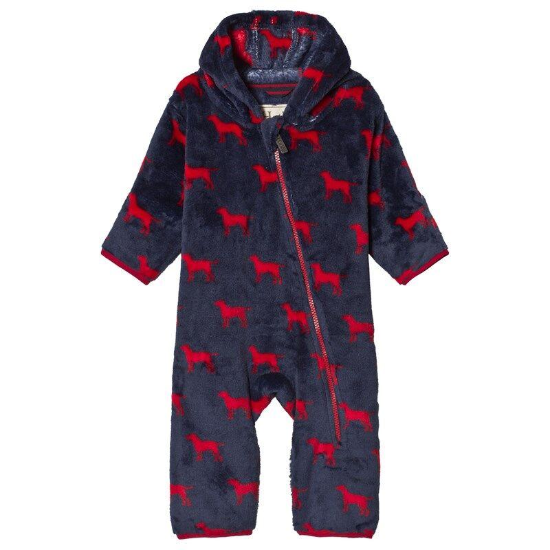 Hatley Fleece Vauvan Haalari Red Labs9-12 months