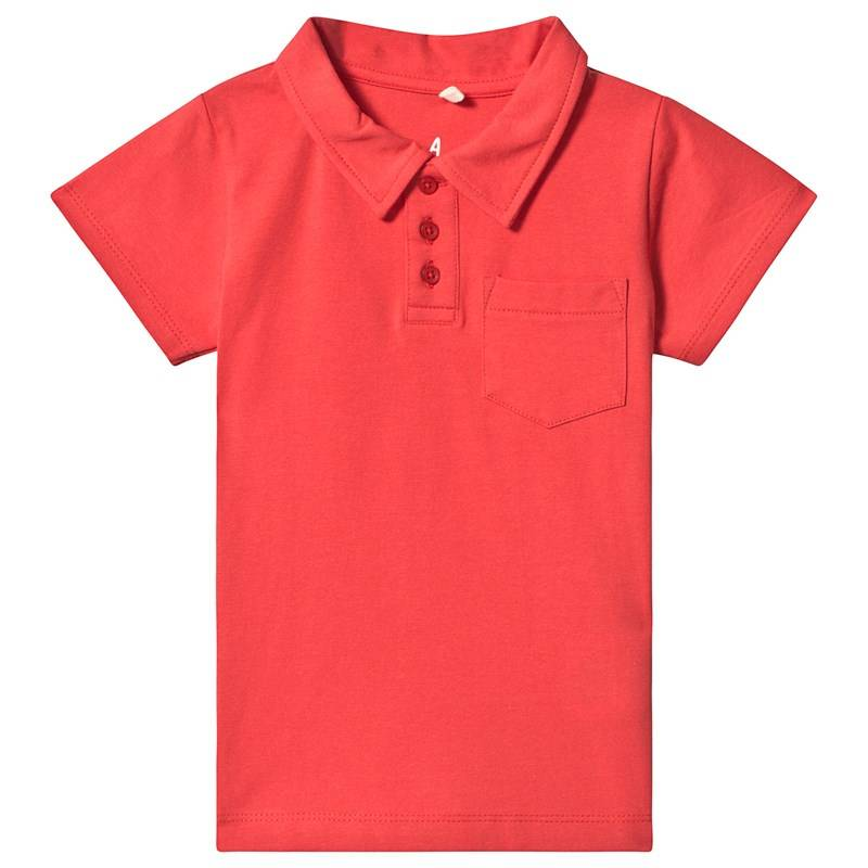 A Happy Brand POLO RED122/128 cm