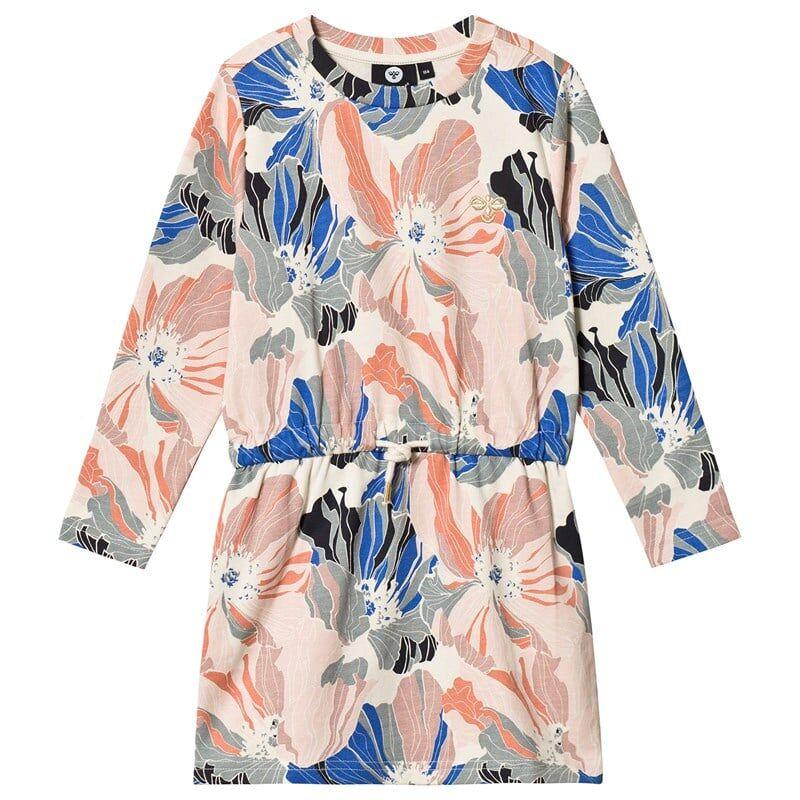 Hummel Charlotta Dress L/S Arona104 cm (3-4 v)