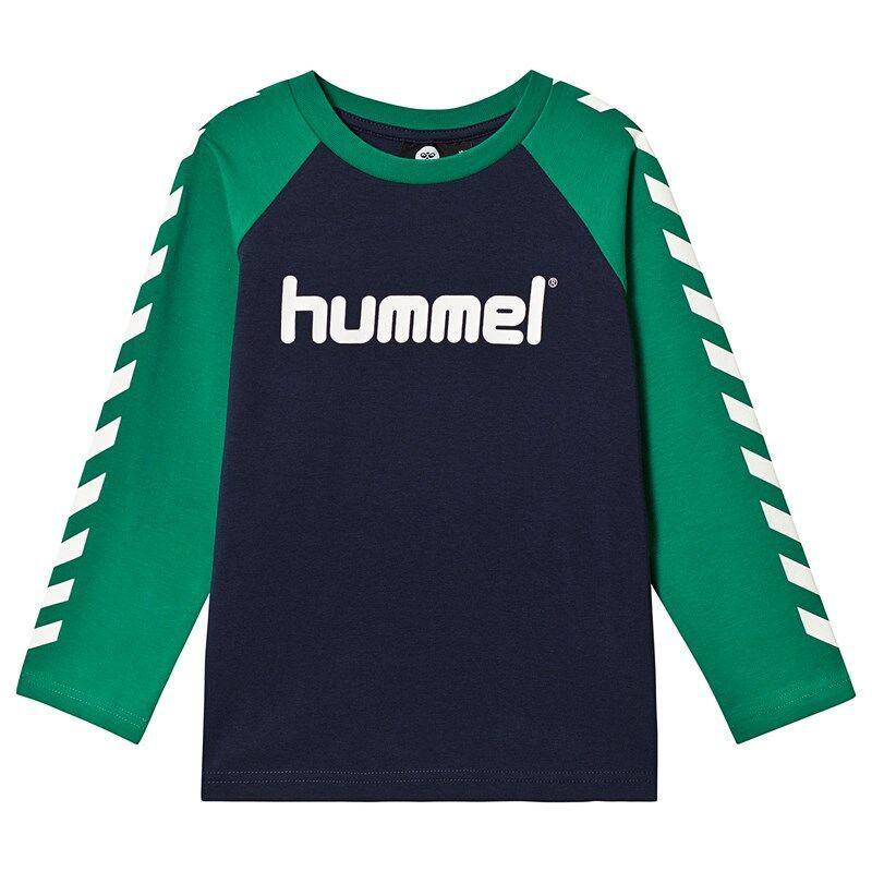 Hummel Boys T-Shirt L/S Pepper Green104 cm (3-4 v)