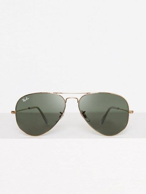 Image of Ray Ban Aviator Large Metal Aurinkolasit Gold