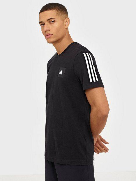Image of Adidas Sport Performance M Mhd Tee 3S Treeni t-paidat Musta
