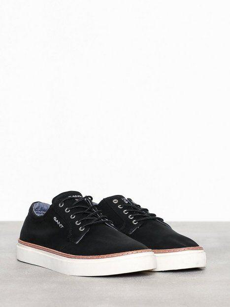 Gant Bari Low lace shoes Tennarit & kangaskengät Black