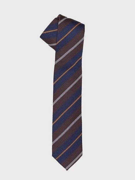 Image of Selected Homme Slhvalde Tie B Solmiot Ruskea