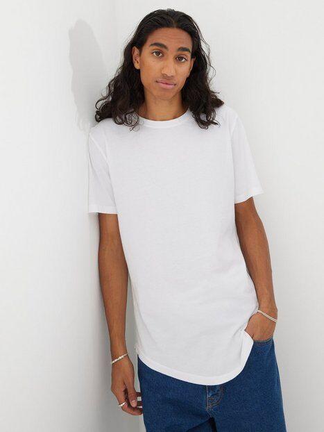 Image of Only & Sons Onsmatt Life Longy Ss Tee Noos T-paidat ja topit Valkoinen