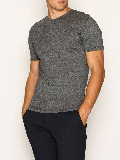 Image of Selected Homme Slhtheperfect Mel Ss O-Neck Tee B N T-paidat ja topit Musta