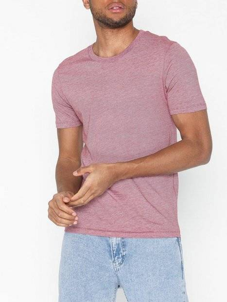Image of Selected Homme Slhtheperfect Mel Ss O-Neck Tee B N T-paidat ja topit Punainen