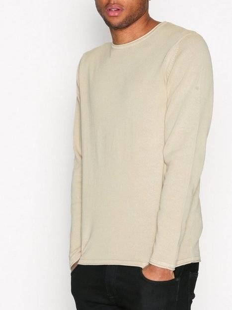 Image of Only & Sons onsGARSON 12 Wash Crew Neck Knit N Puserot Vaaleanharmaa