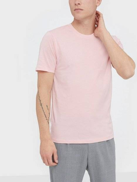 Image of Selected Homme Slhtheperfect Ss O-Neck Tee B T-paidat ja topit Vaalea pinkki