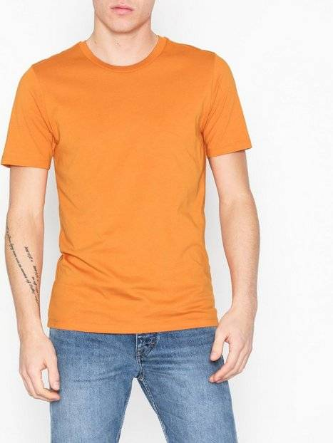 Image of Selected Homme Slhtheperfect Ss O-Neck Tee B T-paidat ja topit Oranssi