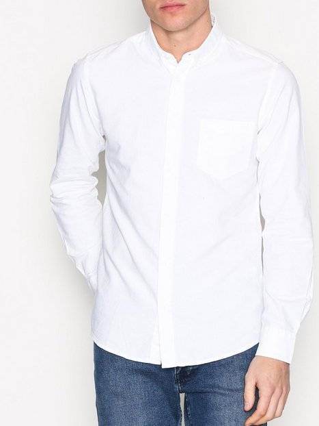 Image of Only & Sons onsALVARO Ls Oxford Shirt Noos T-paidat ja topit Valkoinen