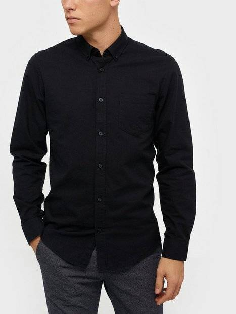 Image of Only & Sons onsALVARO Ls Oxford Shirt Noos T-paidat ja topit Musta