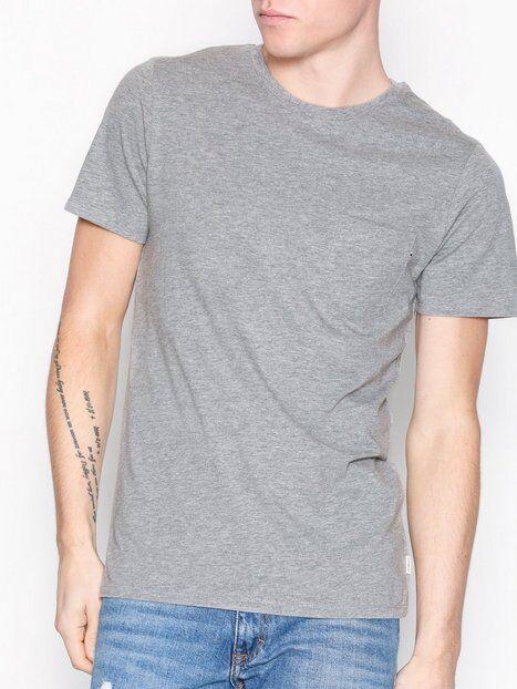 Image of Jack & Jones Jjepocket Tee Ss O-Neck Noos T-paidat ja topit Vaaleanharmaa