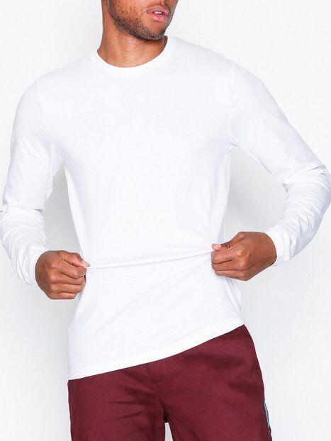 Image of Only & Sons onsBASIC Slim Ls Tee Noos T-paidat ja topit Valkoinen