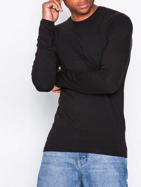 Image of Only & Sons onsBASIC Slim Ls Tee Noos T-paidat ja topit Musta
