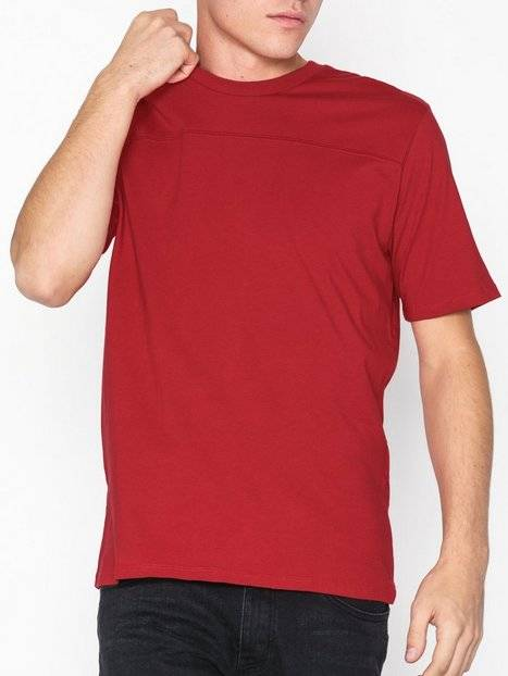 Image of Selected Homme Slhmarco Ss O-Neck Tee B T-paidat ja topit Punainen