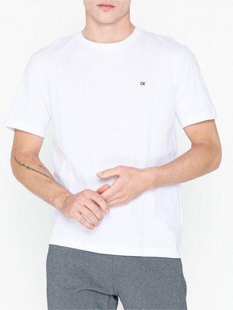 Image of Calvin Klein Jeans Ck Badge Embroidery Reg Tee T-paidat ja topit Valkoinen