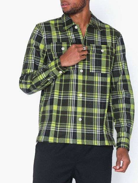 Wood Wood Franco shirt Kauluspaidat Green