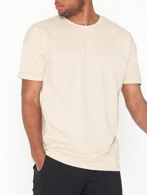 Image of Selected Homme Slhemil Ss O-Neck Tee B T-paidat ja topit Offwhite