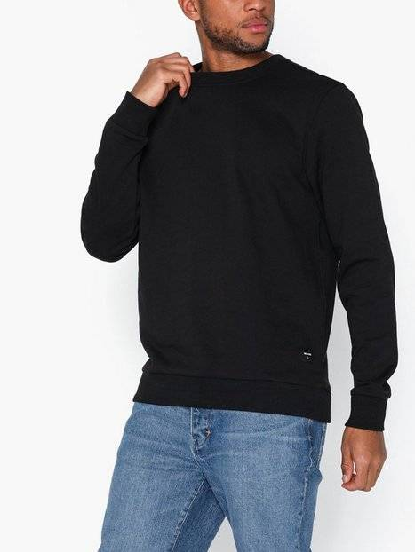 Image of Only & Sons Onswinston Crew Neck Sweat Noos Puserot Black