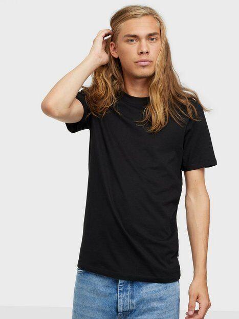 Image of Jack & Jones Jjeorganic Basic Tee Ss O-Neck Noos T-paidat ja topit Musta