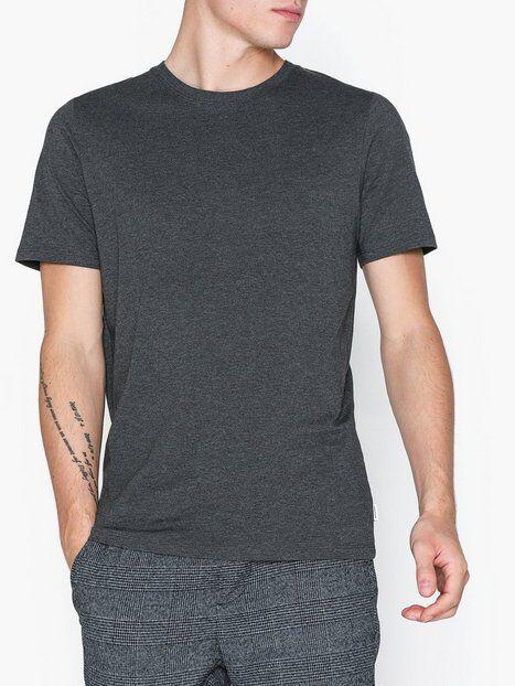 Image of Jack & Jones Jjeorganic Basic Tee Ss O-Neck Noos T-paidat ja topit Tummanharmaa