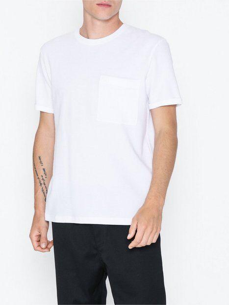 Image of Selected Homme Slhper Ss O-Neck Tee B T-paidat ja topit Valkoinen