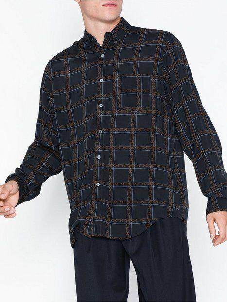 Image of Hope Button Shirt Kauluspaidat Dark Blue