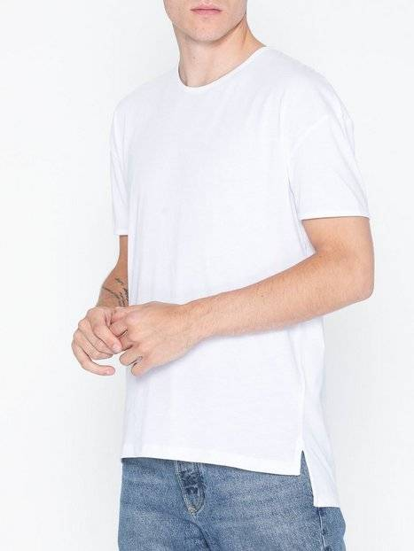 Image of Selected Homme Slhheat Ss O-Neck Tee B Ka T-paidat ja topit Valkoinen