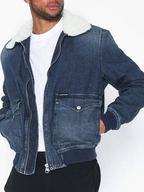 Image of Calvin Klein Jeans Western Bomber Takit Sininen