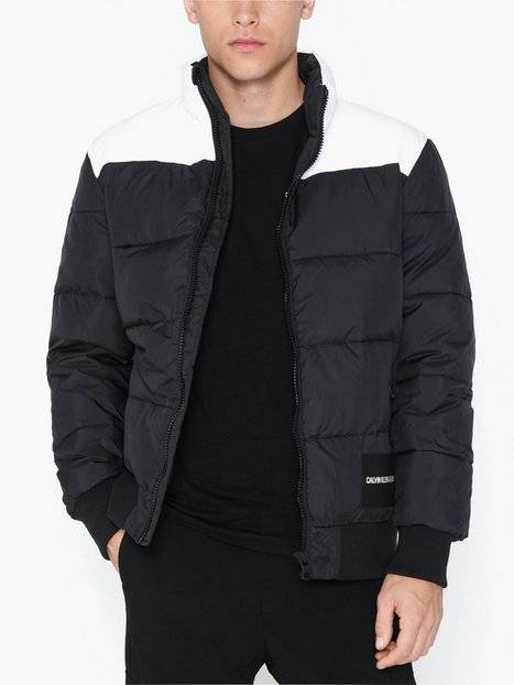 Image of Calvin Klein Jeans Padded Western Puffer Takit Musta