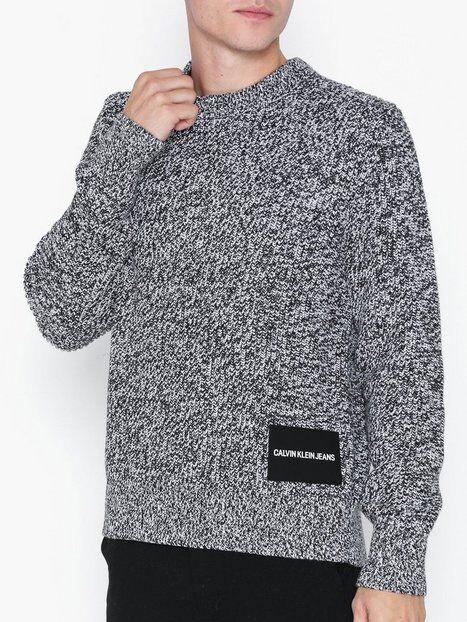 Image of Calvin Klein Jeans Cardigan Stitch Cn Sweater Puserot Valkoinen