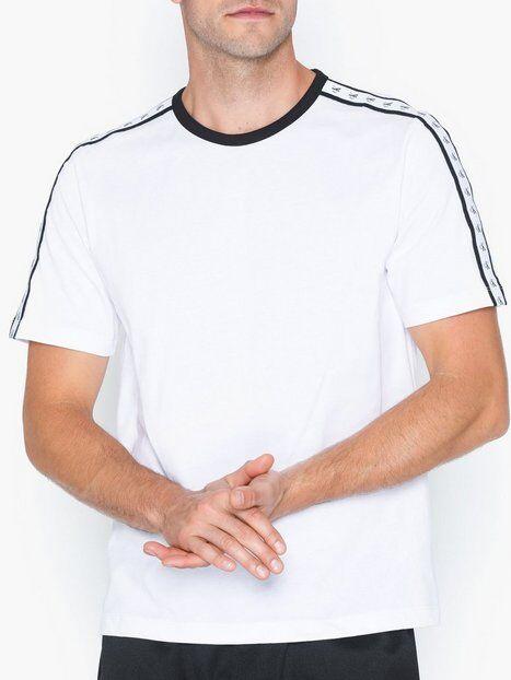 Image of Calvin Klein Jeans Monogram Tape Reg Ss Tee T-paidat ja topit Valkoinen