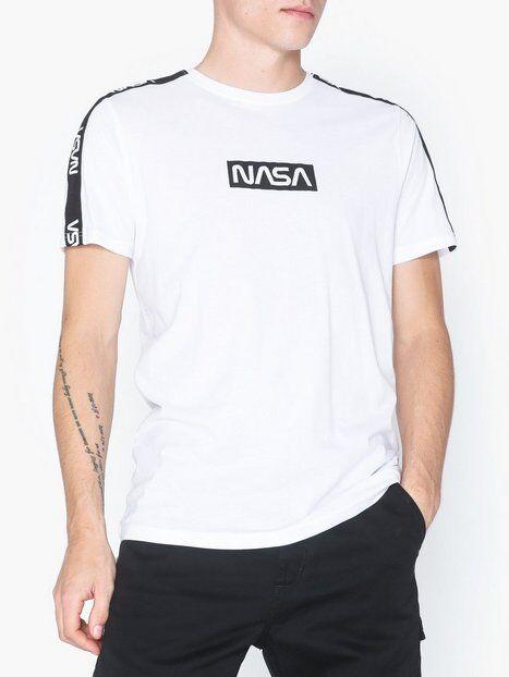 Image of Only & Sons onsNASA License Ss Reg Tee T-paidat ja topit Valkoinen