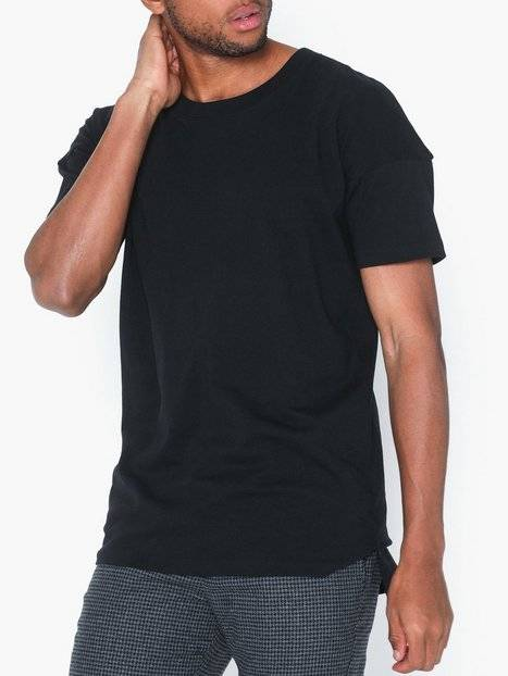 Image of Selected Homme Slhkibe Ss O-Neck Tee L T-paidat ja topit Musta